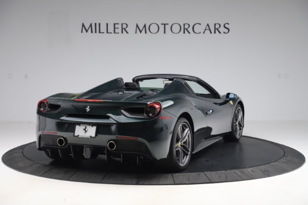 Used 2019 Ferrari 488 Spider Base for sale $329,900 at Pagani of Greenwich in Greenwich CT 06830 7