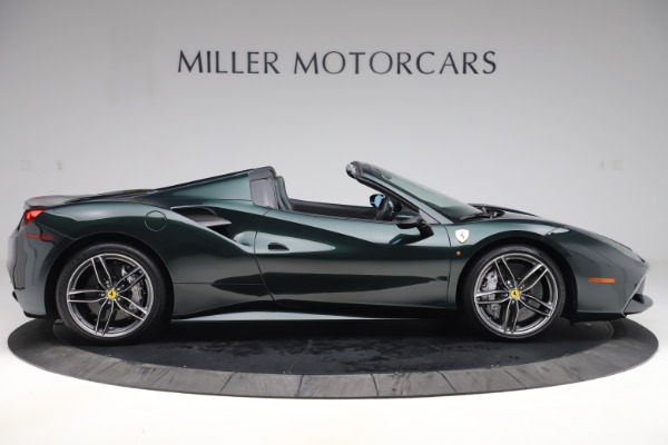Used 2019 Ferrari 488 Spider Base for sale $329,900 at Pagani of Greenwich in Greenwich CT 06830 9