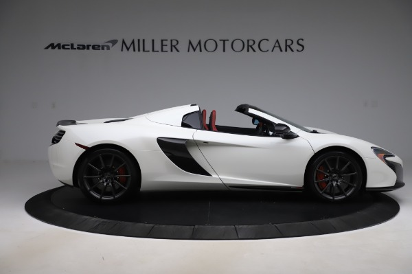 Used 2016 McLaren 650S Spider for sale $159,900 at Pagani of Greenwich in Greenwich CT 06830 10