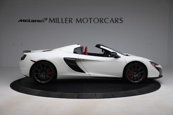 Used 2016 McLaren 650S Spider for sale $159,900 at Pagani of Greenwich in Greenwich CT 06830 11