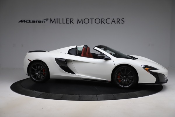 Used 2016 McLaren 650S Spider for sale $159,900 at Pagani of Greenwich in Greenwich CT 06830 12