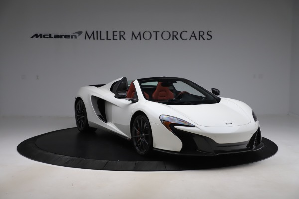 Used 2016 McLaren 650S Spider for sale $159,900 at Pagani of Greenwich in Greenwich CT 06830 14