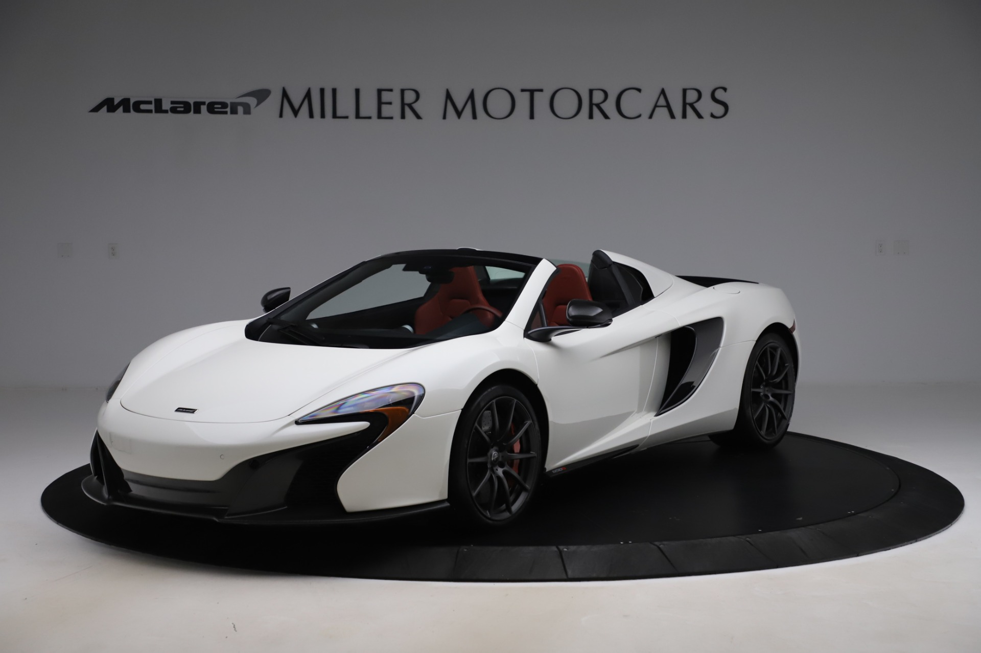 Used 2016 McLaren 650S Spider for sale $159,900 at Pagani of Greenwich in Greenwich CT 06830 1