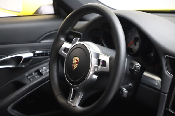 Used 2013 Porsche 911 Carrera 4S for sale $74,900 at Pagani of Greenwich in Greenwich CT 06830 23