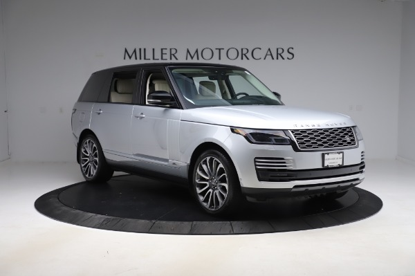 Used 2019 Land Rover Range Rover Supercharged LWB for sale Call for price at Pagani of Greenwich in Greenwich CT 06830 11