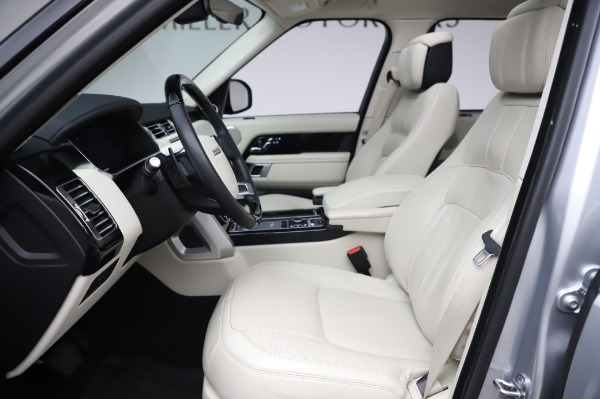 Used 2019 Land Rover Range Rover Supercharged LWB for sale Call for price at Pagani of Greenwich in Greenwich CT 06830 14