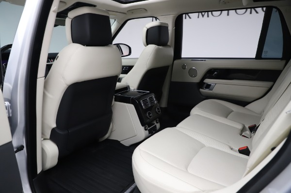 Used 2019 Land Rover Range Rover Supercharged LWB for sale Call for price at Pagani of Greenwich in Greenwich CT 06830 16