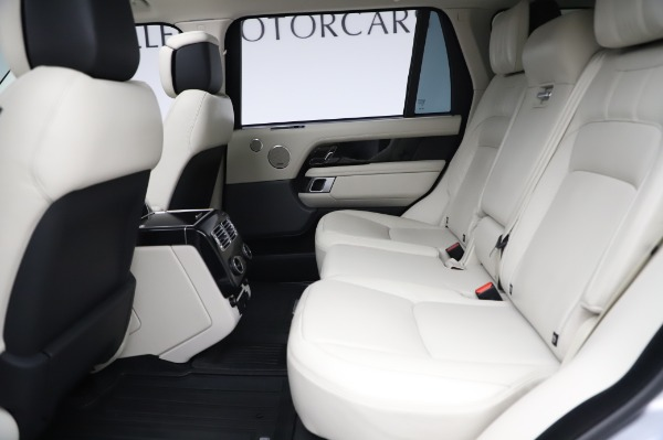 Used 2019 Land Rover Range Rover Supercharged LWB for sale Call for price at Pagani of Greenwich in Greenwich CT 06830 17