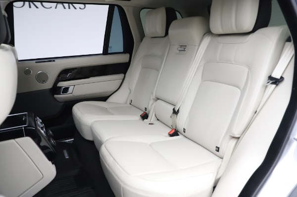 Used 2019 Land Rover Range Rover Supercharged LWB for sale Call for price at Pagani of Greenwich in Greenwich CT 06830 19
