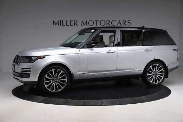 Used 2019 Land Rover Range Rover Supercharged LWB for sale Call for price at Pagani of Greenwich in Greenwich CT 06830 2