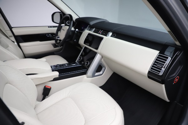 Used 2019 Land Rover Range Rover Supercharged LWB for sale Call for price at Pagani of Greenwich in Greenwich CT 06830 20