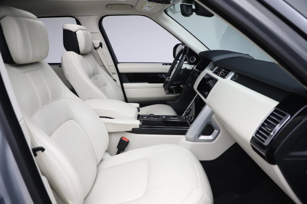 Used 2019 Land Rover Range Rover Supercharged LWB for sale Call for price at Pagani of Greenwich in Greenwich CT 06830 21