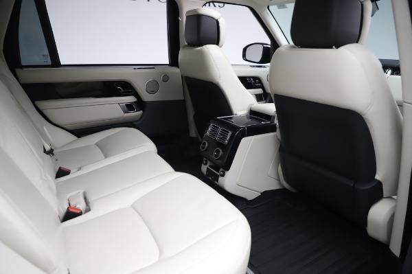 Used 2019 Land Rover Range Rover Supercharged LWB for sale Call for price at Pagani of Greenwich in Greenwich CT 06830 23