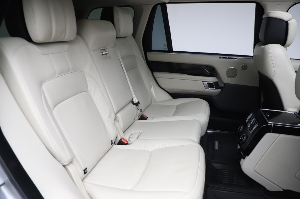 Used 2019 Land Rover Range Rover Supercharged LWB for sale Call for price at Pagani of Greenwich in Greenwich CT 06830 24