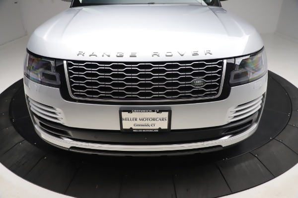 Used 2019 Land Rover Range Rover Supercharged LWB for sale Call for price at Pagani of Greenwich in Greenwich CT 06830 26