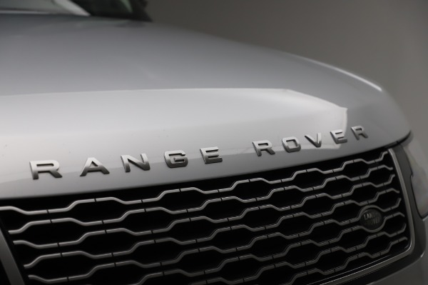 Used 2019 Land Rover Range Rover Supercharged LWB for sale Call for price at Pagani of Greenwich in Greenwich CT 06830 27