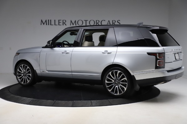 Used 2019 Land Rover Range Rover Supercharged LWB for sale Call for price at Pagani of Greenwich in Greenwich CT 06830 4