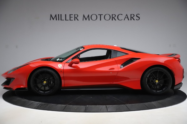 Used 2020 Ferrari 488 Pista for sale $439,900 at Pagani of Greenwich in Greenwich CT 06830 3