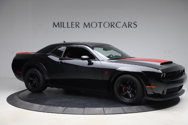 Used 2018 Dodge Challenger SRT Demon for sale Call for price at Pagani of Greenwich in Greenwich CT 06830 10