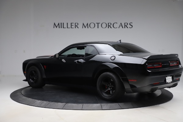 Used 2018 Dodge Challenger SRT Demon for sale Call for price at Pagani of Greenwich in Greenwich CT 06830 4
