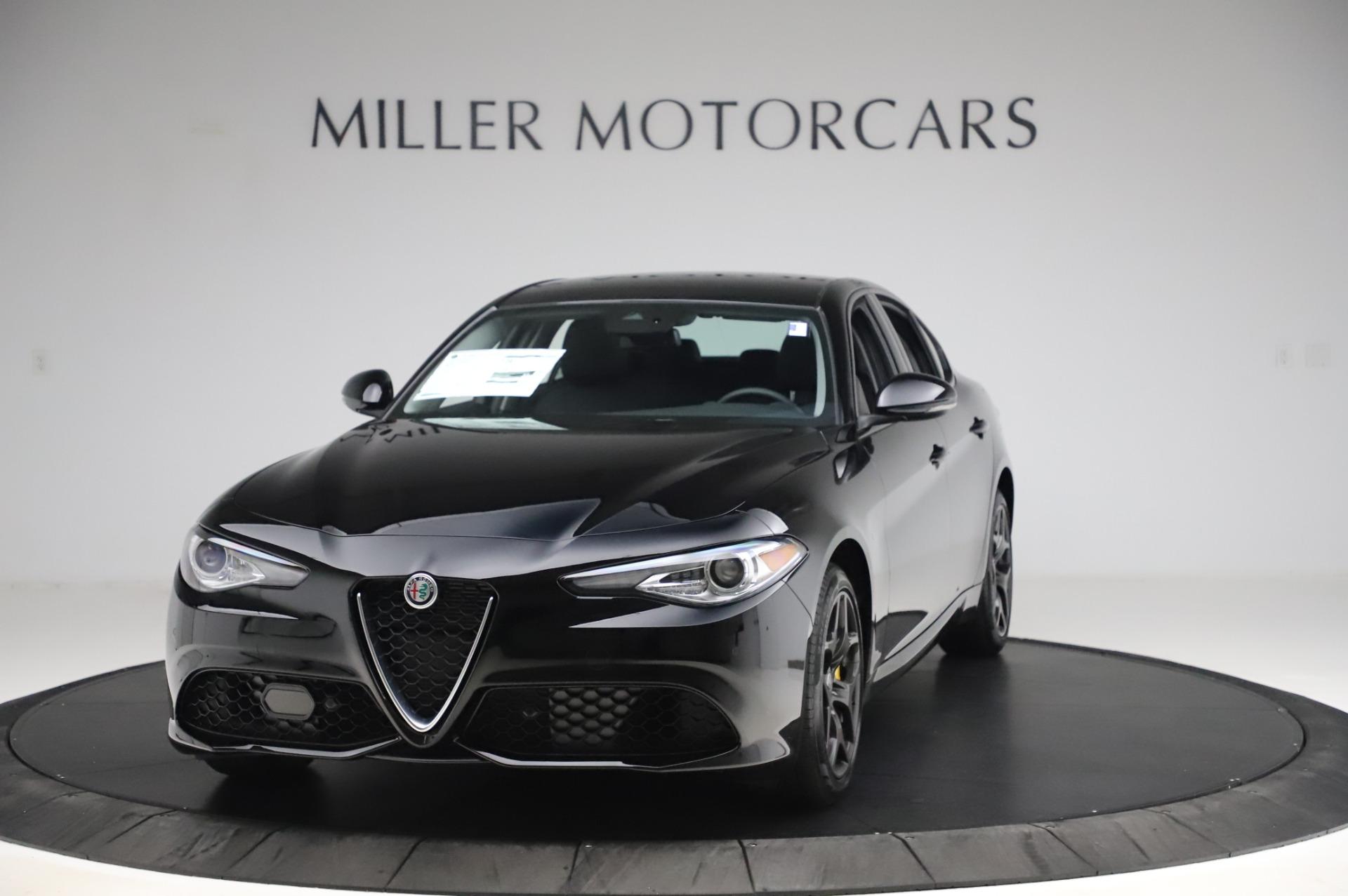 New 2020 Alfa Romeo Giulia Sport Q4 for sale $48,895 at Pagani of Greenwich in Greenwich CT 06830 1