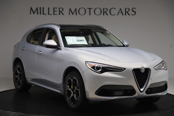 New 2020 Alfa Romeo Stelvio Ti Lusso Q4 for sale $55,045 at Pagani of Greenwich in Greenwich CT 06830 11
