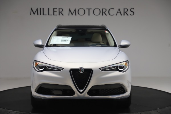 New 2020 Alfa Romeo Stelvio Ti Lusso Q4 for sale $55,045 at Pagani of Greenwich in Greenwich CT 06830 12