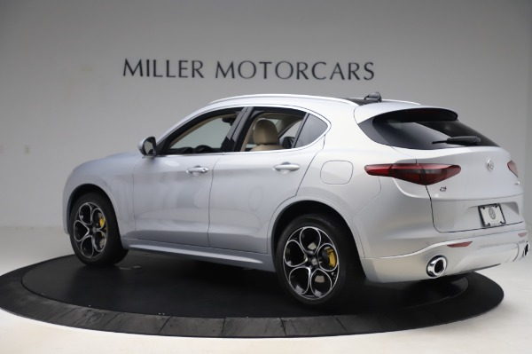 New 2020 Alfa Romeo Stelvio Ti Lusso Q4 for sale $55,045 at Pagani of Greenwich in Greenwich CT 06830 4