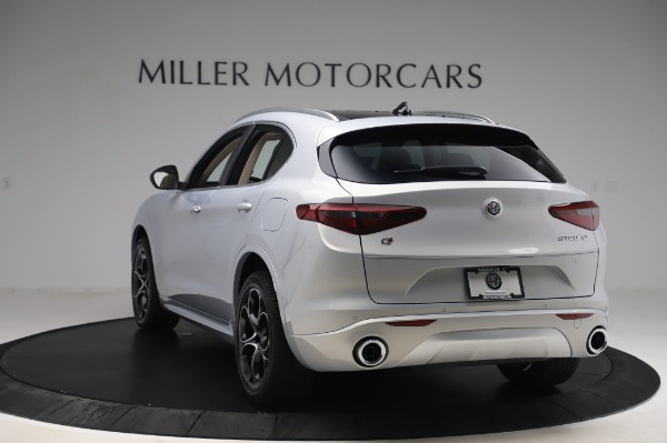New 2020 Alfa Romeo Stelvio Ti Lusso Q4 for sale $55,045 at Pagani of Greenwich in Greenwich CT 06830 5