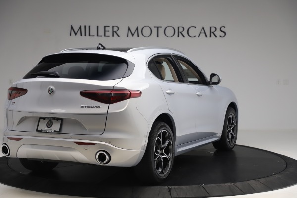 New 2020 Alfa Romeo Stelvio Ti Lusso Q4 for sale $55,045 at Pagani of Greenwich in Greenwich CT 06830 7