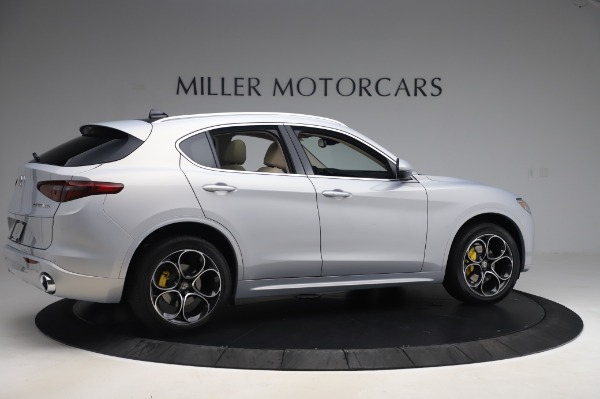 New 2020 Alfa Romeo Stelvio Ti Lusso Q4 for sale $55,045 at Pagani of Greenwich in Greenwich CT 06830 8