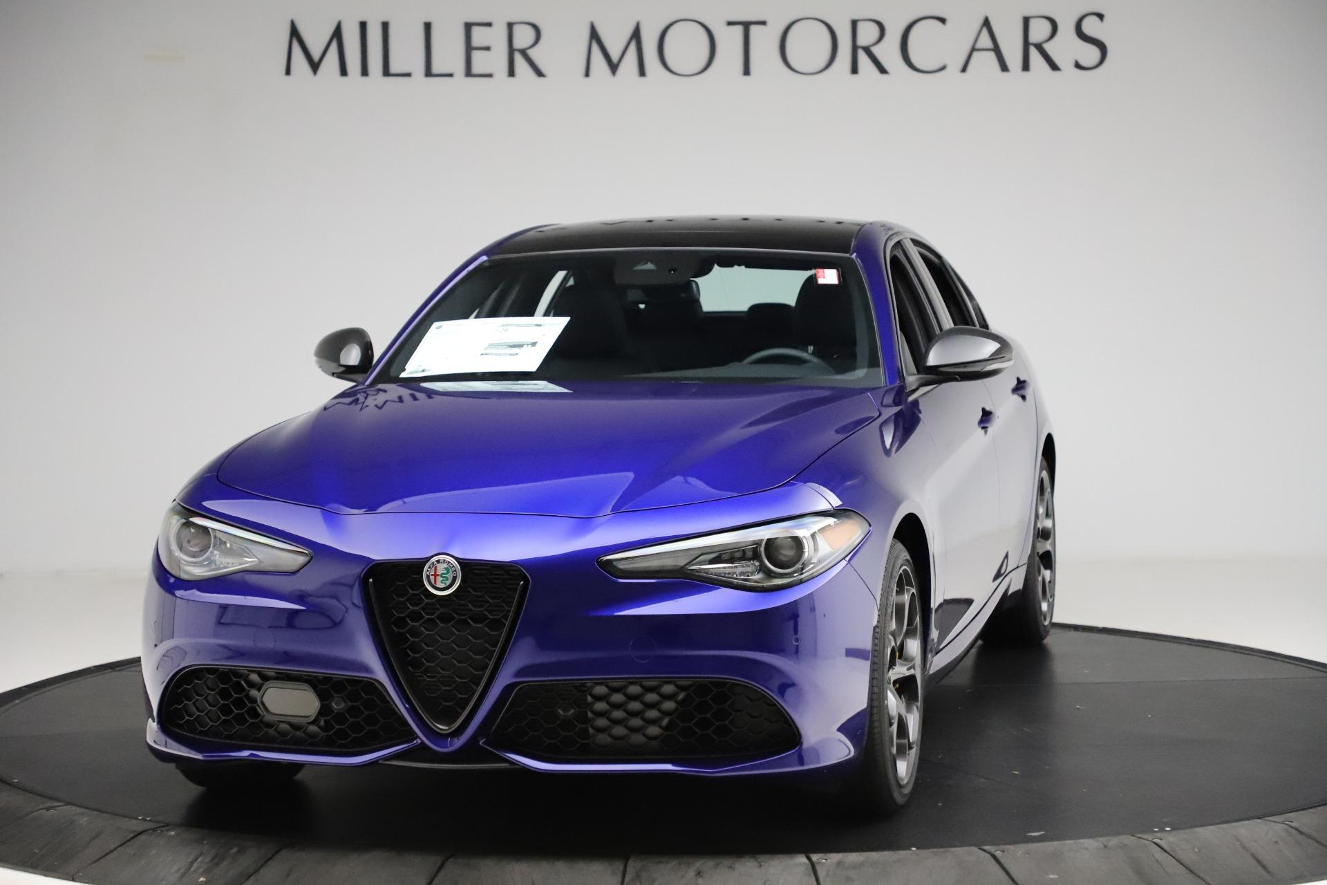New 2020 Alfa Romeo Giulia Ti Sport Q4 for sale $52,995 at Pagani of Greenwich in Greenwich CT 06830 1