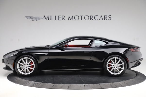 Used 2018 Aston Martin DB11 V12 Coupe for sale Sold at Pagani of Greenwich in Greenwich CT 06830 2