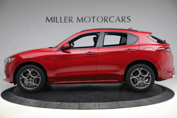 New 2020 Alfa Romeo Stelvio Sport Q4 for sale Sold at Pagani of Greenwich in Greenwich CT 06830 3
