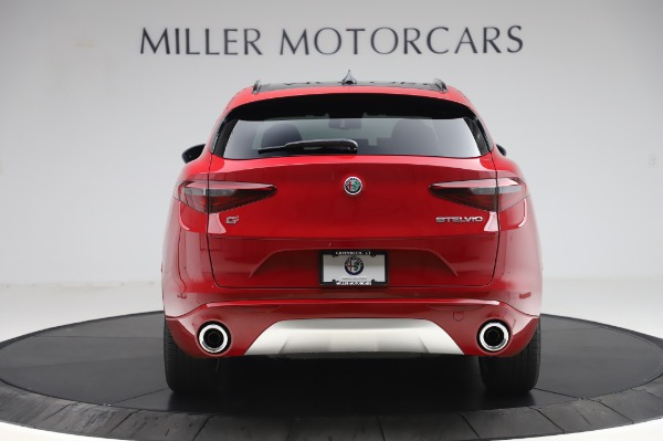 New 2020 Alfa Romeo Stelvio Sport Q4 for sale Sold at Pagani of Greenwich in Greenwich CT 06830 6