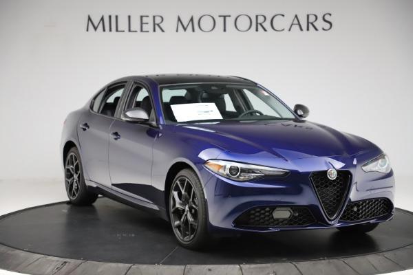New 2020 Alfa Romeo Giulia Ti Q4 for sale $43,545 at Pagani of Greenwich in Greenwich CT 06830 11