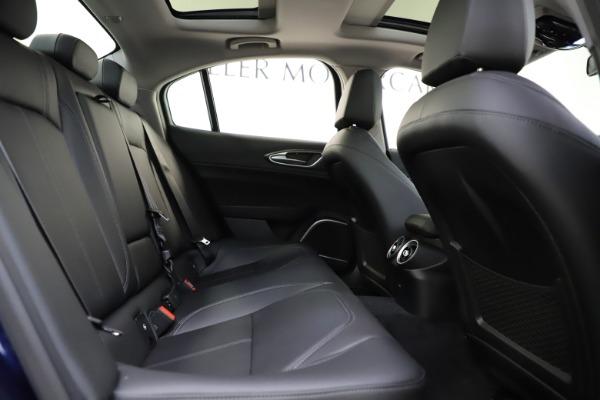 New 2020 Alfa Romeo Giulia Ti Q4 for sale $43,545 at Pagani of Greenwich in Greenwich CT 06830 25