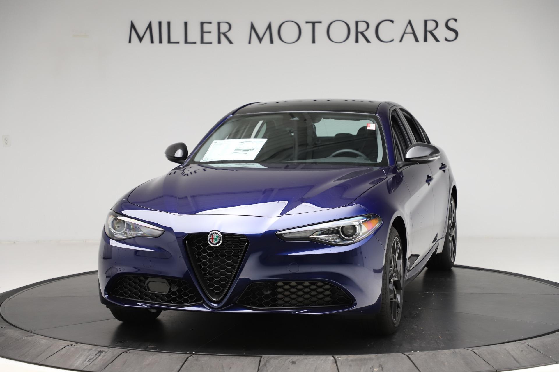 New 2020 Alfa Romeo Giulia Ti Q4 for sale $43,545 at Pagani of Greenwich in Greenwich CT 06830 1