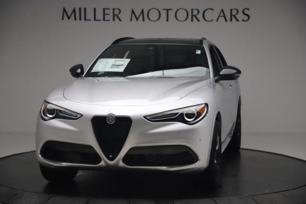 New 2020 Alfa Romeo Stelvio Ti Sport Q4 for sale $54,795 at Pagani of Greenwich in Greenwich CT 06830 1