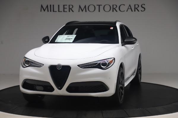 New 2020 Alfa Romeo Stelvio Ti Sport Q4 for sale $56,495 at Pagani of Greenwich in Greenwich CT 06830 1