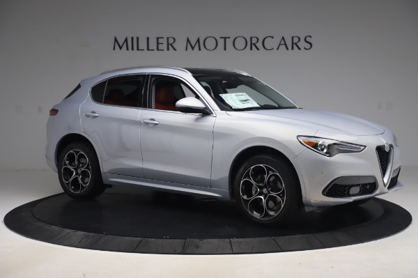 New 2020 Alfa Romeo Stelvio Ti Lusso Q4 for sale $54,145 at Pagani of Greenwich in Greenwich CT 06830 10