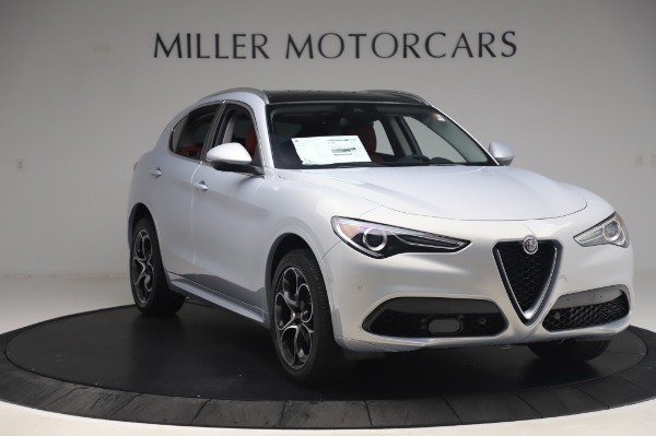 New 2020 Alfa Romeo Stelvio Ti Lusso Q4 for sale $54,145 at Pagani of Greenwich in Greenwich CT 06830 11