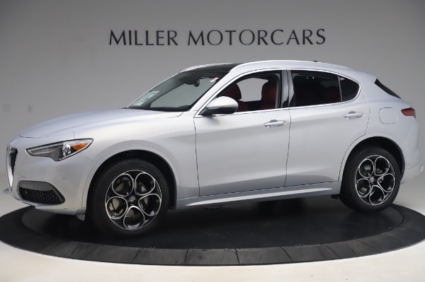 New 2020 Alfa Romeo Stelvio Ti Lusso Q4 for sale $54,145 at Pagani of Greenwich in Greenwich CT 06830 2