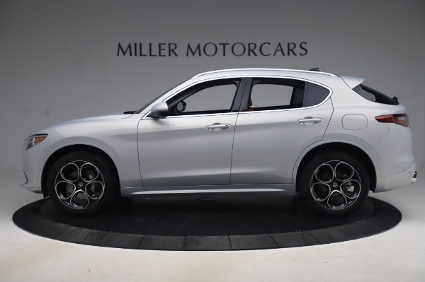 New 2020 Alfa Romeo Stelvio Ti Lusso Q4 for sale $54,145 at Pagani of Greenwich in Greenwich CT 06830 3