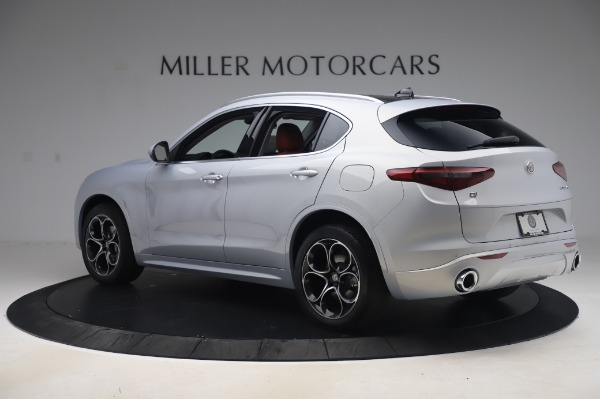 New 2020 Alfa Romeo Stelvio Ti Lusso Q4 for sale $54,145 at Pagani of Greenwich in Greenwich CT 06830 4