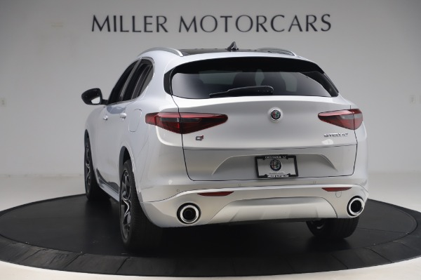 New 2020 Alfa Romeo Stelvio Ti Lusso Q4 for sale $54,145 at Pagani of Greenwich in Greenwich CT 06830 5