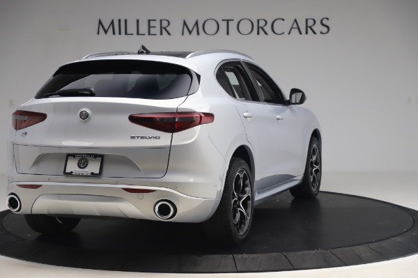 New 2020 Alfa Romeo Stelvio Ti Lusso Q4 for sale $54,145 at Pagani of Greenwich in Greenwich CT 06830 7
