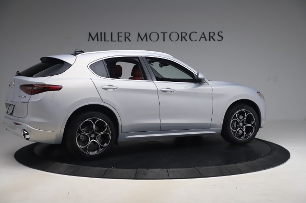 New 2020 Alfa Romeo Stelvio Ti Lusso Q4 for sale $54,145 at Pagani of Greenwich in Greenwich CT 06830 8