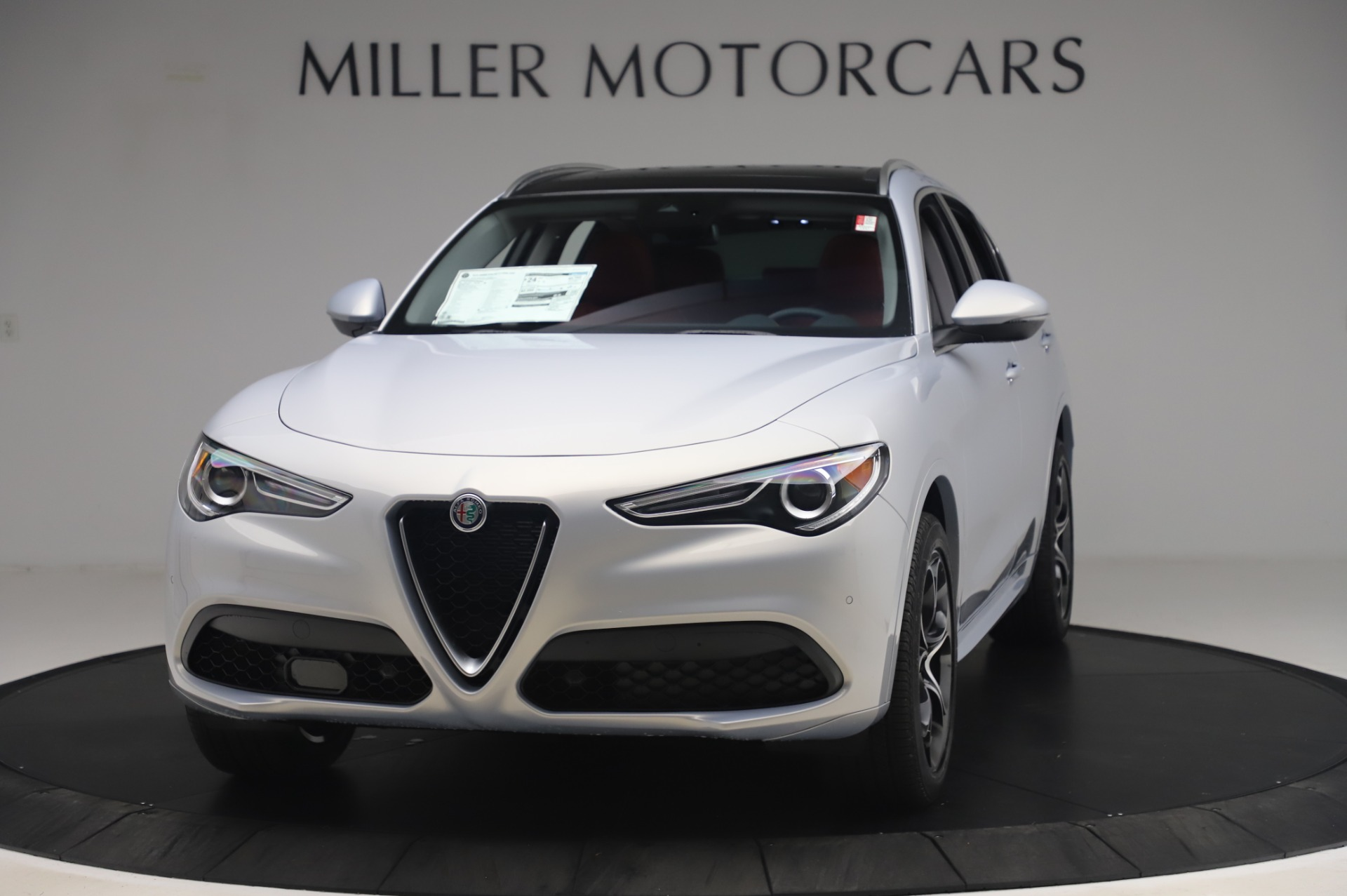 New 2020 Alfa Romeo Stelvio Ti Lusso Q4 for sale $54,145 at Pagani of Greenwich in Greenwich CT 06830 1