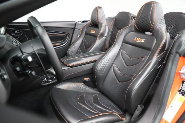 Used 2020 Aston Martin DBS Superleggera Volante for sale Sold at Pagani of Greenwich in Greenwich CT 06830 15